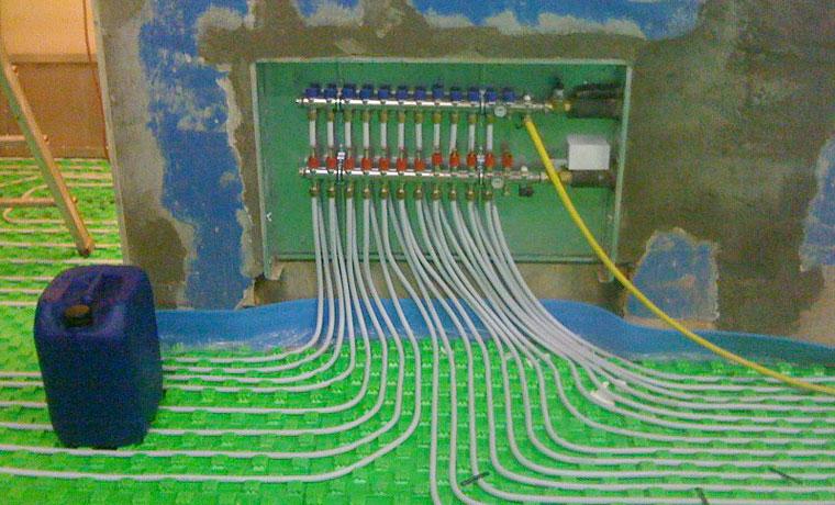 Impiantistica e Ristrutturazione Riscaldamento a Pavimento