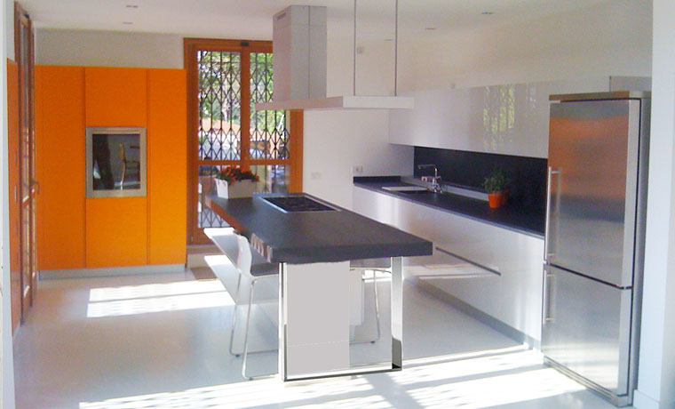 Cucina Moderna - Progettazione e Ristrutturazione d'Interni